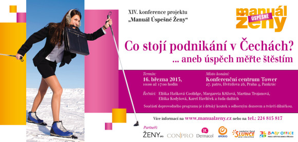 XIV. výroční konference projektu Manuál Úspěšné Ženy (MUŽ) dá nahlédnout pod pokličku ženám se zájmem o podnikání.