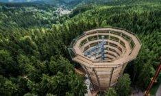 Nová Stezka korunami stromů Krkonoše čeká na návštěvníky